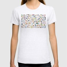 Gotta catch 'em all ! Ash Grey Womens Fitted Tee X-LARGE
