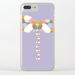 16 E=ButterflyBalloon1 Clear iPhone Case