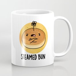 Steamed Bun Cute Moody Food Pun Coffee Mug