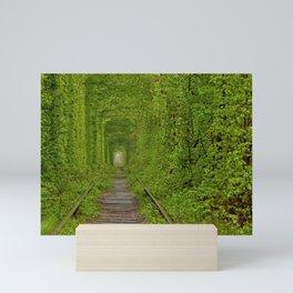 Inside The Tunnel Of Love Mini Art Print