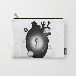 Our one heart. Carry-All Pouch