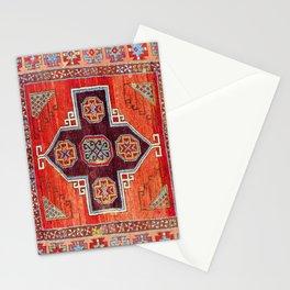 Obruk Konya Antique Turkish Long Rug Print Stationery Cards