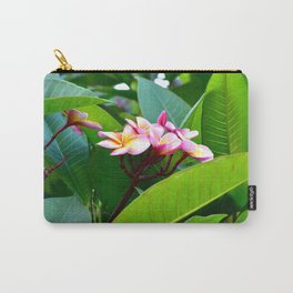 Plumeria 02 Carry-All Pouch