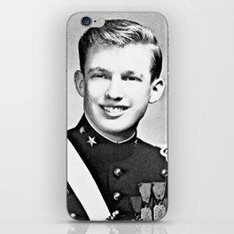 Donald Trump - 1964 New York Military Academy iPhone Skin