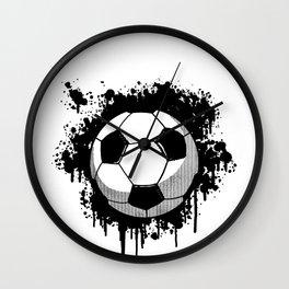 Soccer Ball Sport Goal Game Football Team Gift Wall Clock