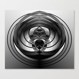 Modern Me Spiral 2 Canvas Print