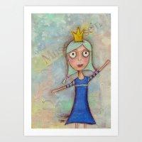 Queensy Art Print