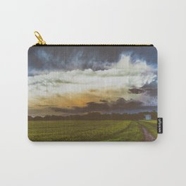 BURST AND BLOOM Carry-All Pouch