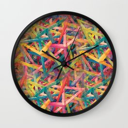 Hallucinatory Terrain Wall Clock