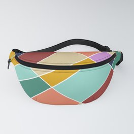 Abstract Retro Painting Fanny Pack