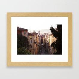 Nice, France Framed Art Print