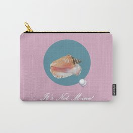 Sea Shell with Pearl Carry-All Pouch