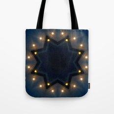 FULL MOON RISING STAR Tote Bag