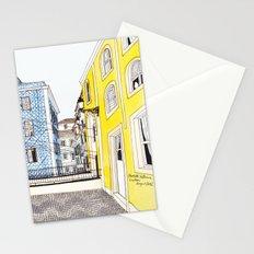 Beautiful Lisbon by Charlotte Vallance Stationery Cards