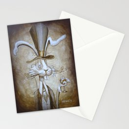 Tim & Jill's Mr. Hasenpfeffer Victorian Style Portrait Stationery Cards