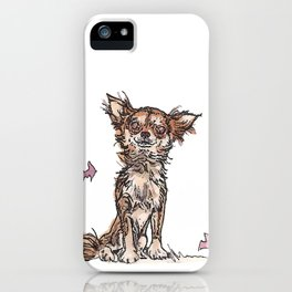 Dogs with Balloons iPhone Case