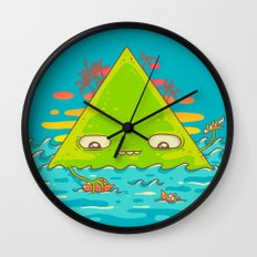 The Bermuda Triangle Wall Clock