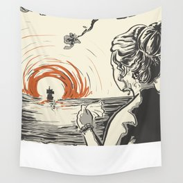 Once, I Hated the Sun Wall Tapestry