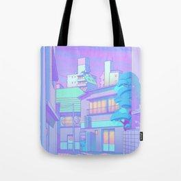 Night in Utopia Tote Bag