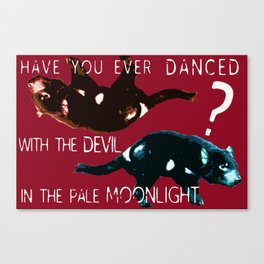 The Tasmanian Devil is in the Details ~ Pop Art Photography! Canvas Print