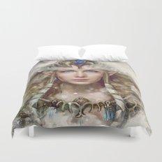 Epic Princess Zelda from Legend of Zelda Painting Duvet Cover