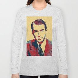 James Stewart Poster Art Long Sleeve T-shirt