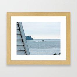 Going Fishing Framed Art Print