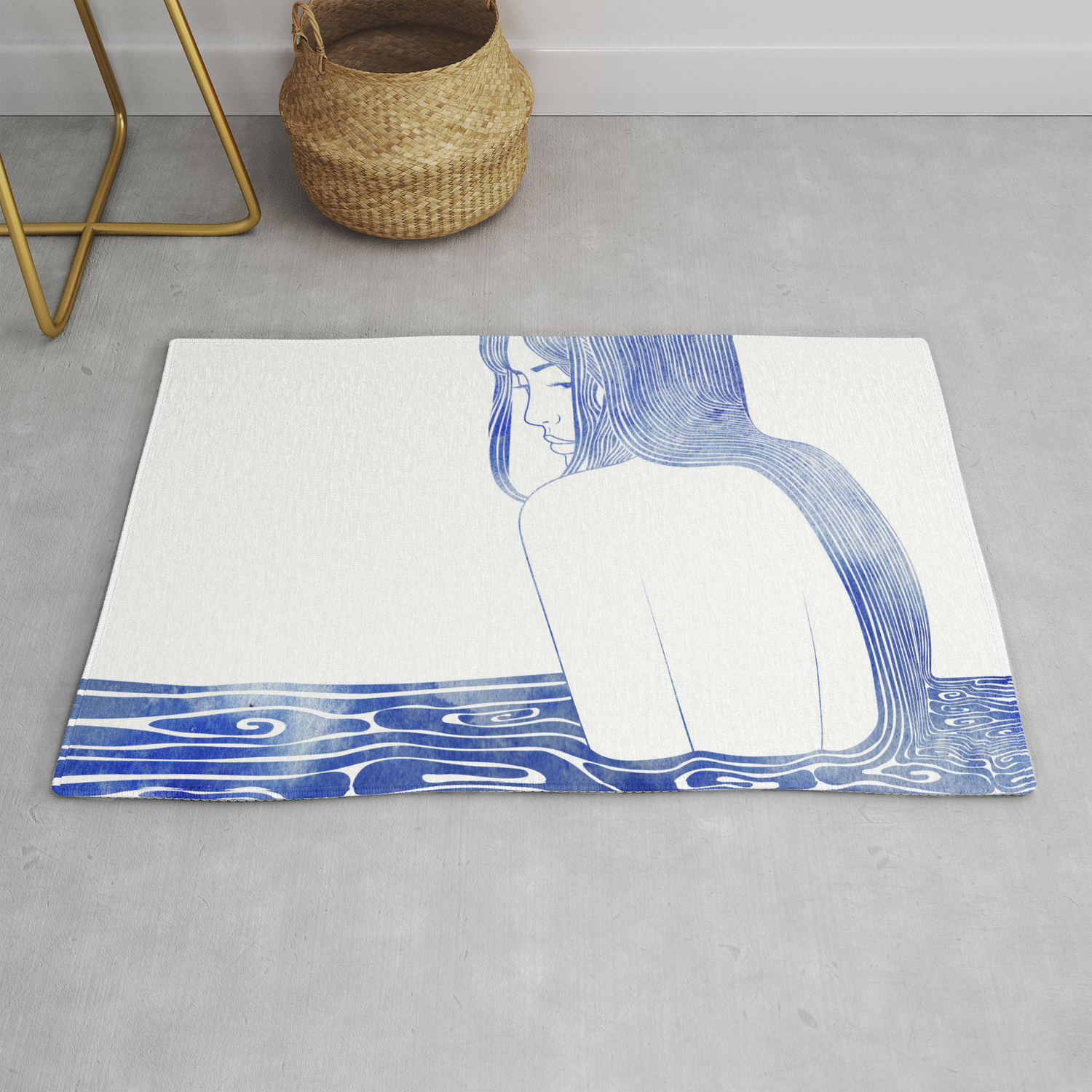Nereid Xl Rug By Sirenarts Society6
