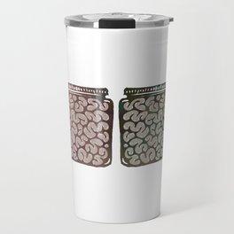 Think outside the jar Travel Mug
