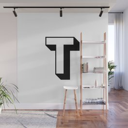 Letter T ... As Easy As ... Wall Mural