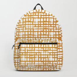 Simple But Golden - Minimalist Lines Backpack