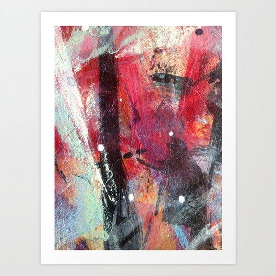 Paint table 1 Art Print