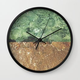 Sea contrast Wall Clock