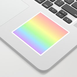 Pastel Rainbow Gradient Sticker