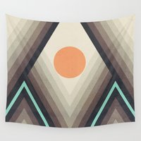 dot Wall Tapestries featuring Dot III by Metron