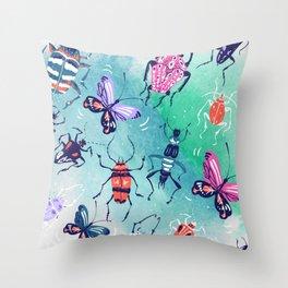 The Bugs Throw Pillow