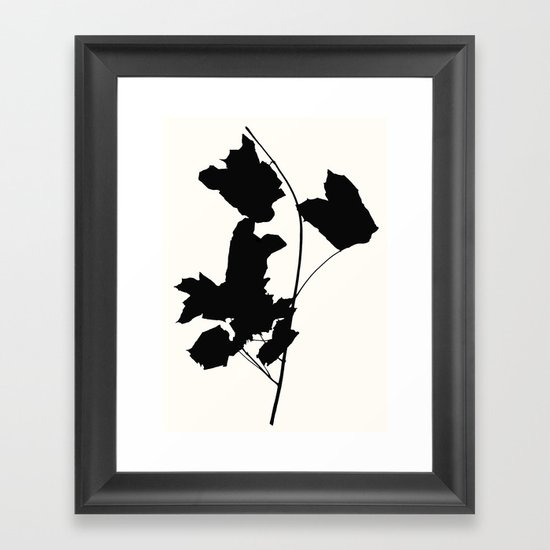 maple 1 Framed Art Print
