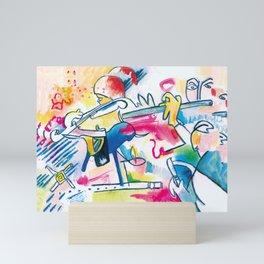 Irish Music Mini Art Print