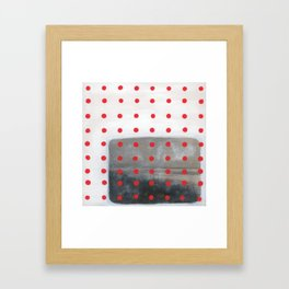 Pattern & Memory Framed Art Print