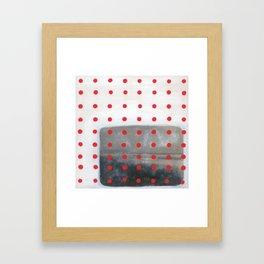 Pattern & Memory Framed Art Print