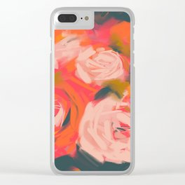 Vibrant Spring Clear iPhone Case