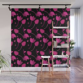 Lovely Floral Wall Mural