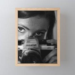Who is in The Spotlight Framed Mini Art Print
