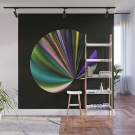 A Fan in Abstract Wall Mural