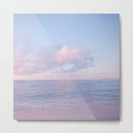 calm day ver.pink Metal Print