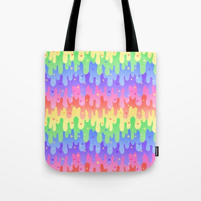 Rainbow Slime Tote Bag