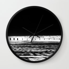 The Out-going Tide Wall Clock
