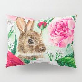 Brown Rabbit Pillow Sham