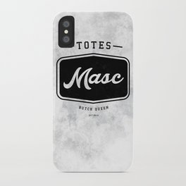 Totes Masc - Vintage iPhone Case