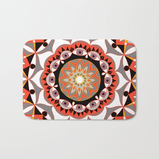 My Solar Plexus Mandhala | Secret Geometry | Energy Symbols Bath Mat